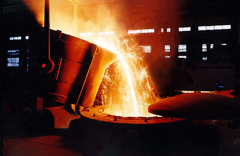 Inductotherm Coreless Holding Furnace