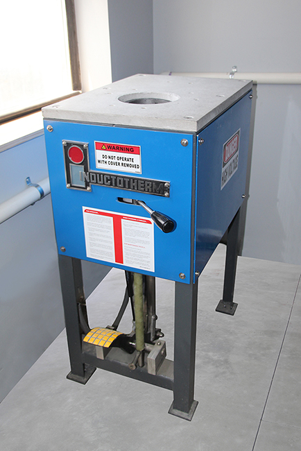 Inductotherm Push Out Furnace